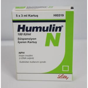 Humulin N for sale