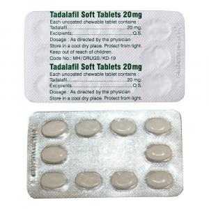 Tadalafil Soft 20 mg for sale